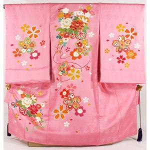 女の子お宮参り着物tega02 ピンク|maisugata