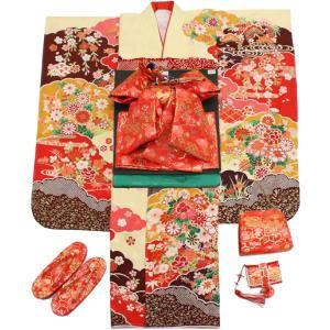 女の子7歳着物20点セット 正絹wask01|maisugata