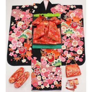 女の子7歳着物20点セット 正絹wask04|maisugata