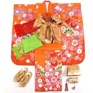 女の子7歳着物20点セット 正絹wask06|maisugata