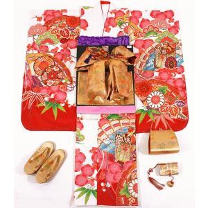 女の子7歳着物20点セット 正絹wask11|maisugata
