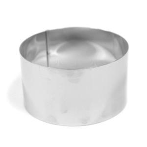 ムースやタルトなどにおすすめのセルクル型枠  材質:ステンレス サイズ(約):直径90×高さ50mm...