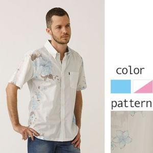 かりゆしウェア メンズ 半袖シャツ