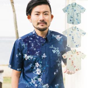かりゆしウェア 沖縄 アロハシャツ MAJUN マジュン か...