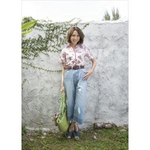 かりゆしウェア レディース 沖縄版 アロハシャツ MAJUN マジュン 半袖シャツ サマーフラワー