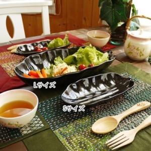 SALE20%OFF アジアン雑貨 バナナリーフプレートL 皿 バナナ葉のお皿 makai