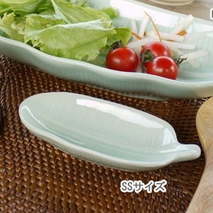 SALE20%OFF アジアン雑貨 バナナリーフプレートSS 皿 バナナ葉のお皿 makai