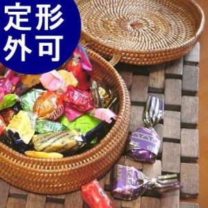 アジアン雑貨 インテリア アタ製 小物入れ 丸型・蓋付き バリ雑貨 makai