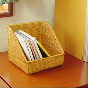アジアン雑貨 インテリア アタ製 CDスタンド  収納ボックス 収納ケース バリ雑貨 makai