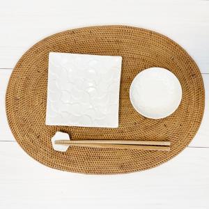 アジアン雑貨 アタ製 ランチョンマット(大・楕円) バリ雑貨 おしゃれ|makai|02