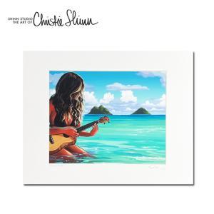Christie Shinn ISLAND STYLE 28.0×35.5cm クリスティー シン アートプリント ハワイアン アート サーフ アート ハワイアン インテリア ハワイアン 雑貨|makai