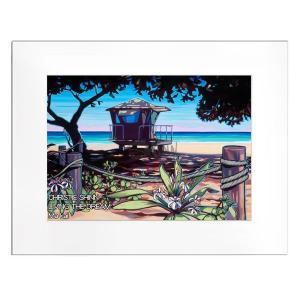 Christie Shinn LIVING THE DREAM 28.0×35.5cm クリスティー シン アートプリント ハワイアン アート サーフ アート ハワイアン インテリア ハワイアン 雑貨|makai
