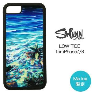 当店限定デザイン iPhone7 iPhone8 ケース ブランド Christie Shinn iPhoneカバー LOW TIDE クリスティ シン|makai