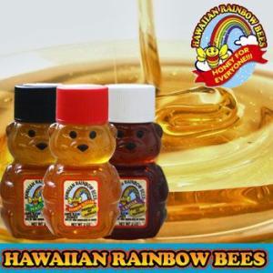 HAWAIIAN RAINBOW BEES ハワイアン レインボー ビーズ はちみつ 2oz(57g)|makai