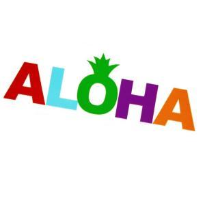 HID ハワイアン アイランドステッカー ALOHA ブロックパイン ハワイアン 雑貨 ハワイアン インテリア makai