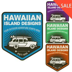 HID ハワイアン アイランドステッカー ウッディ ワゴン ハワイアン 雑貨 ハワイアン インテリア makai