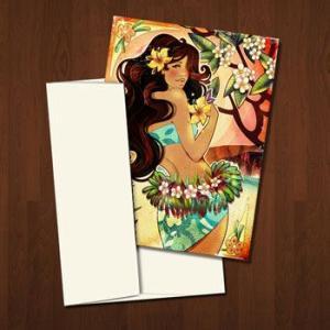 Kat Reeder グリーティングカード Enchanted Paradise カットリーダー カット・リーダー|makai