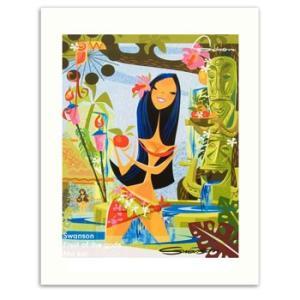 Swanson Fruit of the gods 28.0×35.5cm スワンソン アートプリント|makai