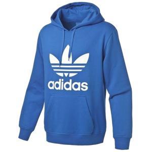[アディダス]Adidas Originals トレフォイルフーディー パーカー カラー各種[並行輸入品] (S, Bluebird/White)|makanainc