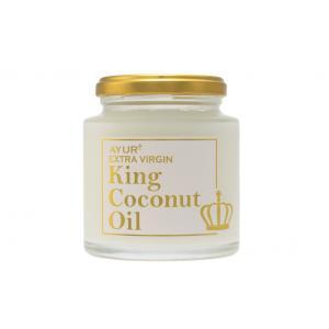 AYUR+ エキストラ バージン ココナッツオイル キングココナッツオイル 180g|makanainc