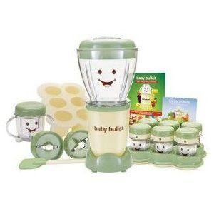 ベビーブレット 離乳食用 フードプロセッサー 食洗機対応 BPAフリー Baby Bullet【並行輸入品】|makanainc