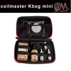 電子タバコ VAPE ケース COILMASTER コイルマスター Kbag mini ブラック makanainc