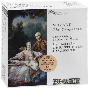 Mozart The Symphonies Box set  Mozart, Wolfgang Amadeus  Hogwood Christopher makanainc