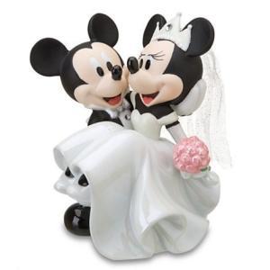 Disney USディズニー公式 ミッキー&ミニー ウェディングフィギュア 並行輸入 makanainc