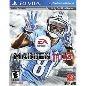 PlayStation Vita Madden NFL 13 輸入版:北米 makanainc