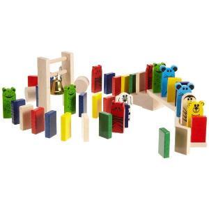 ハバ社 木製おもちゃ アニマルドミノレース <HABA ドイツ> (型番:1172) makanainc