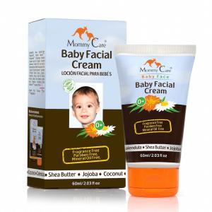 MommyCare オーガニック ベビー フェイシャル ローション 60ml  ホホバオイル配合 赤ちゃん・敏感肌用 顔用 保湿ローション|makanainc