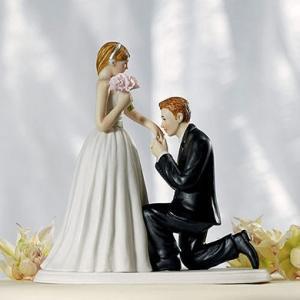 ウェディング ケーキトッパー 結婚式 アイテム プロポーズ makanainc