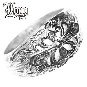 LONO クロスリング LNR45 ロノ ハワイアンジュエリーリング LONO ハワイアンジュエリー リング ペアリング ピンキーリング シルバー925 指輪 人気Hawaiian jewel makanilea-by-lma