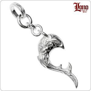 ドルフィンの形をしたハワイアンジュエリーのペンダントトップです。LONOは伝統的なハワイアンジュエリ...