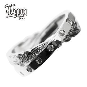 LONO 輝く二重リング R2004C+CZ ロノ ハワイアンジュエリーリング LONO ハワイアンジュエリー リング ペアリング ピンキーリング シルバー 指輪 人気Hawaiian j makanilea-by-lma