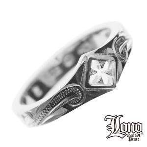 LONO クロスリング RPR06 ロノ ハワイアンジュエリー リン ペアリング ピンキーリング シルバー 指輪 人気Hawaiian jewelry|makanilea-by-lma