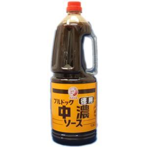 ブルドック) 徳用中濃ソース 1.8L|makariro-sankitchen
