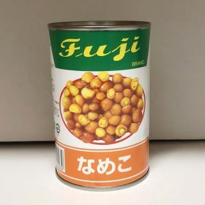 富士商会) なめこ  4号缶 400g|makariro-sankitchen