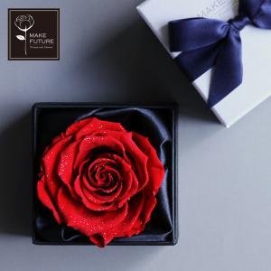 プリザーブドフラワー プレゼント ギフト 花 バラ フラワーボックス プロポーズ Diamond Rose 9 母の日|makefuture
