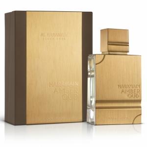 送料無料 正規代理店 アルハラメイン AL HARAMAIN アンバー ウード ゴールド エディション オードパルファム EDP SP 60ml 香水|makelucky