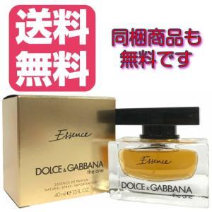 送料無料 ドルチェ&ガッバーナ D&G DOLCE & GABBANA ザ ワン エッセンス オードパルファム EDP SP 40ml (あすつく 香水)|makelucky