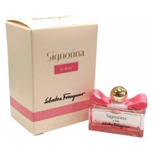 フェラガモ SALVATORE FERRAGAMO シニョリーナ インフィオーレ オードトワレ EDT 5ml (あすつく 香水)|makelucky