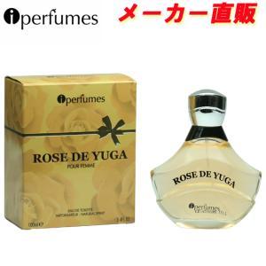安心のメーカー直販 アイパフューム ローズドユウガ オードトワレ EDT SP 100ml (あすつく 香水) (クロエ)タイプの香り (旧商品名 ユウガ )|makelucky