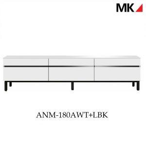 訳あり品 テレビボード ANM-180AWT+LBK エムケーマエダ家具 送料無料 開梱設置サービス...