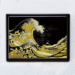 1509-02-14 蒔絵付箋ケース「雅」 浪裏|makie