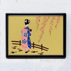 1509-02-15 蒔絵付箋ケース「雅」 舞妓|makie
