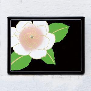 1509-02-16 蒔絵付箋ケース「雅」 スワロフスキー椿|makie