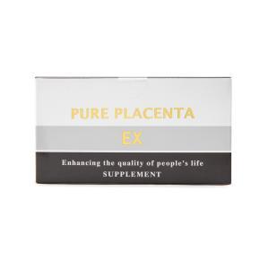 ピュアプラセンタEX 精選高濃度プラセンタサプリ 120粒入り(30日分) ビタミンB2 美肌 プラセンタ|makino