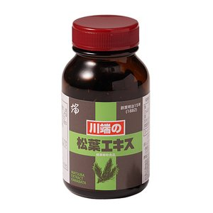 川端の松葉エキス 200粒(25日分) サプリメント 松の葉|makino