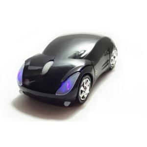 送料無料!ワイヤレス マウス フェラ?リ車型 mouse 黒 お買い得!|makitaqueenshopp